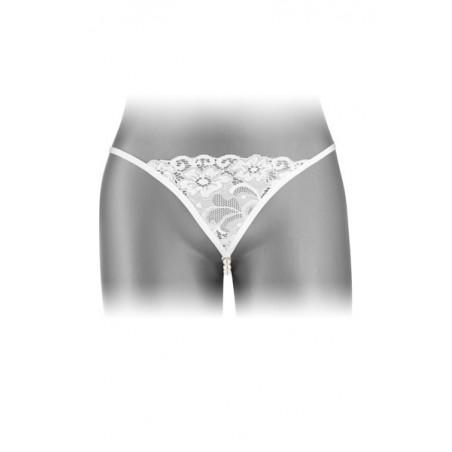 Domino Metallic Boules Geisha Argentée