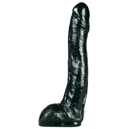 Gode Pénis Long Noir All Black