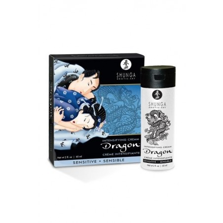 Dragon Crème Sensitive de Virilité Shunga