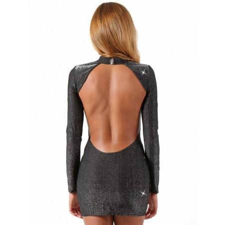 Bas Auto Fixant Noir Couture Motifs Losanges