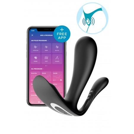 Collant Résille Nude Couture Noire