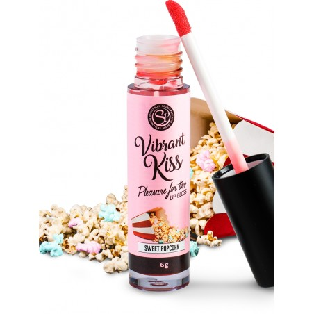 Gloss Kiss Sensation Vibrant Pop Corn