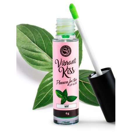 Lip Gloss Kiss Sensation Vibrant Menthe