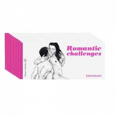 Romantic Chéquier de 20 Challenges