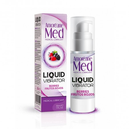 Liquid Vibrator Lubrifiant Gourmand Fruits Rouges