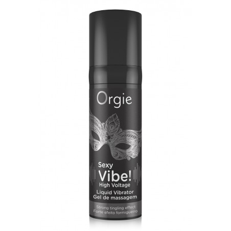 Sexy Vibe High Liquid Vibrator Gel Excitation Fort