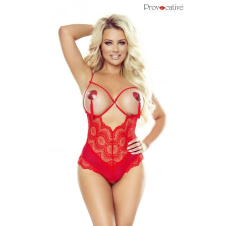 Instant Lovers Body Rouge Ouvert Ou Pas