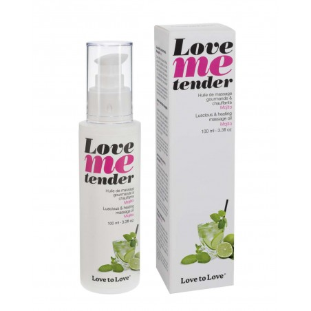 Huiles de Massage Love Me Tender Mojito